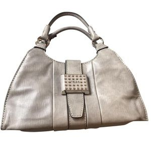 Grey Leather Tods bag
